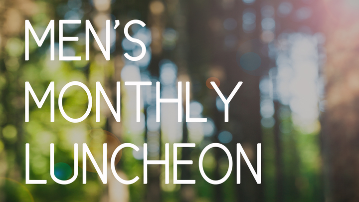 Men's Monthly Luncheon logo image