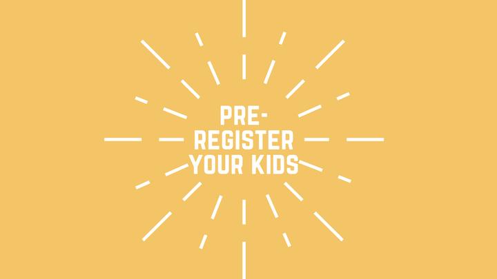 Pre-Register Child(ren) for Check-Ins logo image