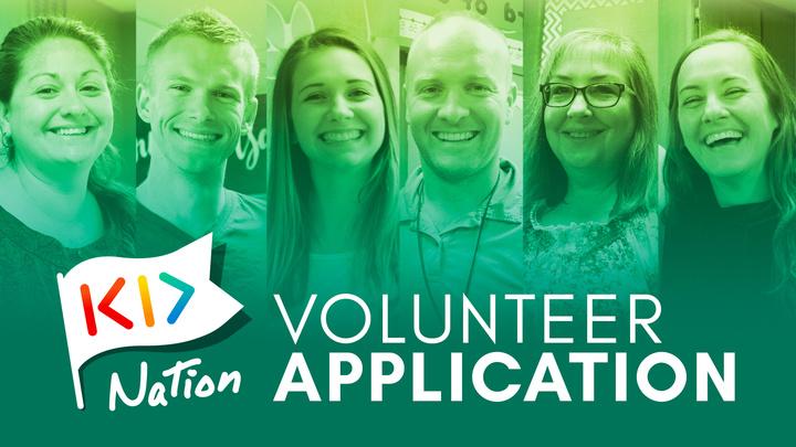 Kid Nation Volunteer logo image
