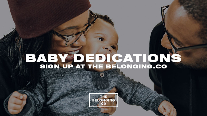 BABY DEDICATION // August 25 logo image