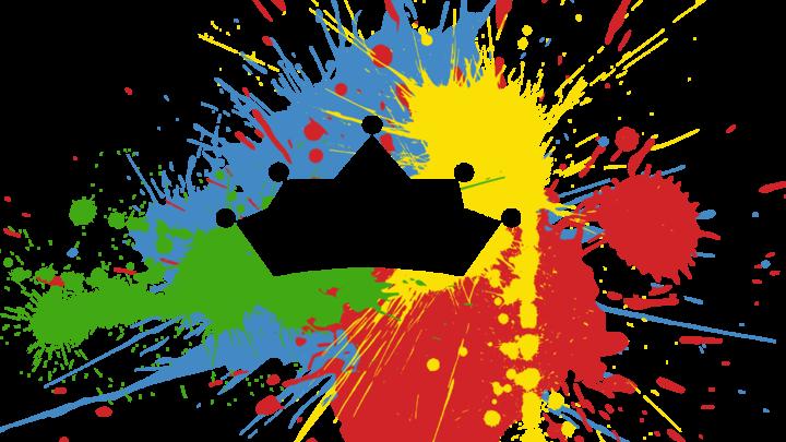 Medium preschool logo splatter