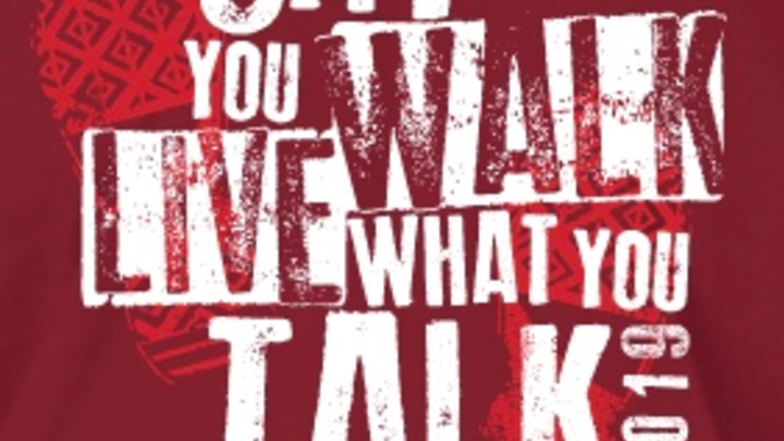 Say What you Walk, Live What you Talk logo image