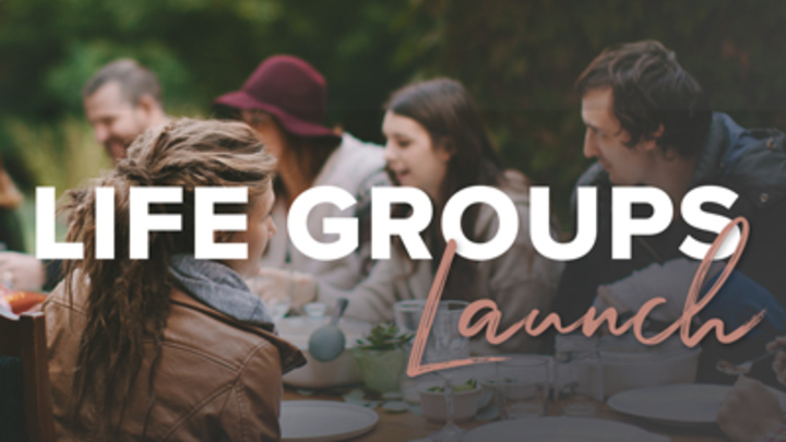 Life Group Launch logo image