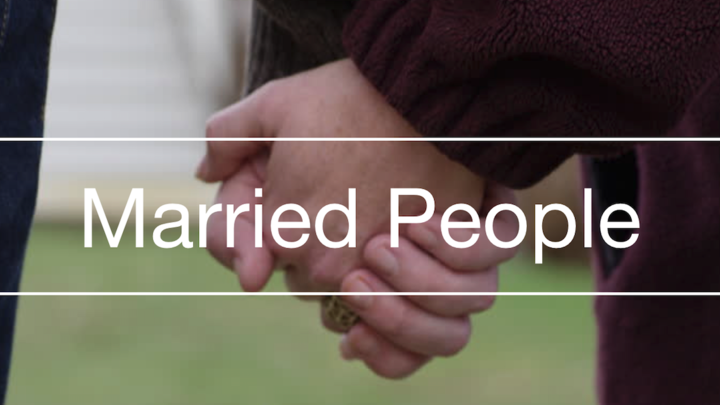 "Married People "" Woo Her - Wow Him"" logo image"