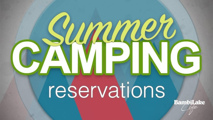 Summer Camping Reservations logo image