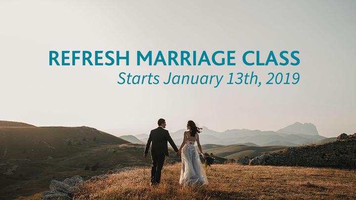 Refresh Marriage  logo image
