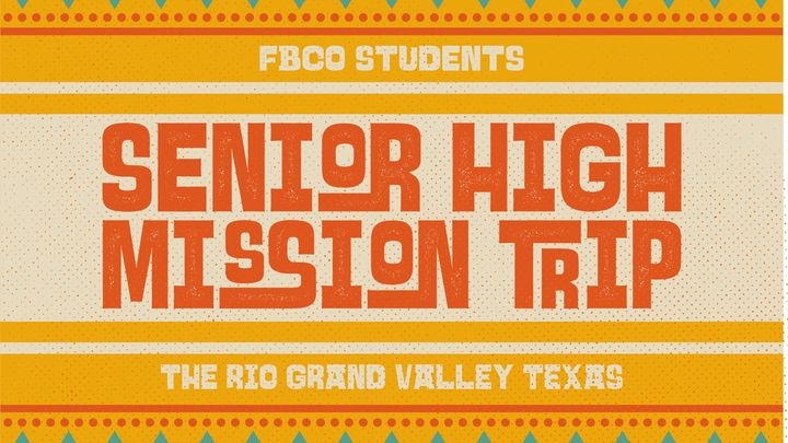 Medium fbco senior high mission trip 2018