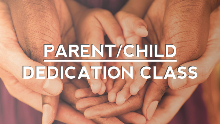 Parent/Child Dedication Class logo image