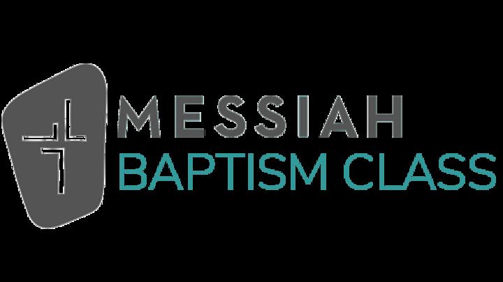 October Baptism Registration logo image