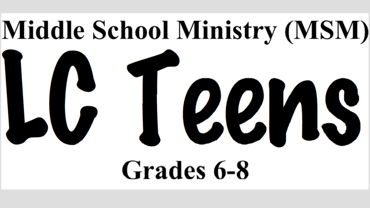 LC Teens MSM Sunday Mornings logo image