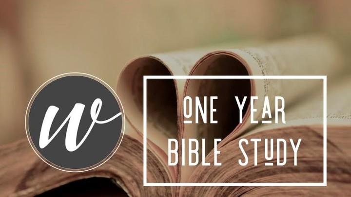 One Year Bible Study logo image