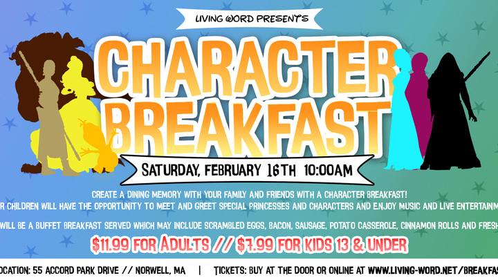 Character Breakfast logo image