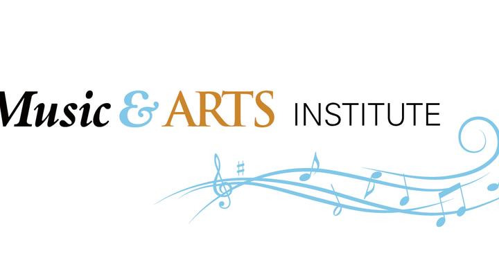 Medium music and arts color logo r