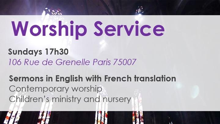 Weekly Worship Service logo image