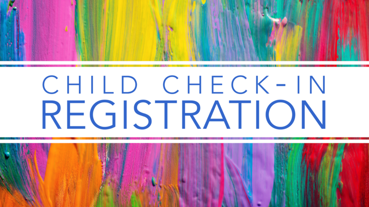 Child Check-In Registration logo image