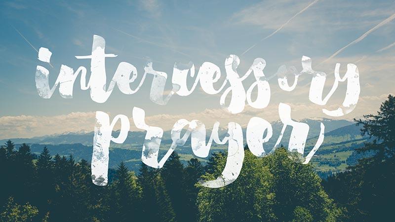 Event intercessory prayer 3