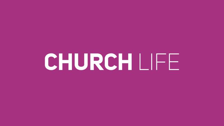 Start Here (3 of 3): Church Life logo image