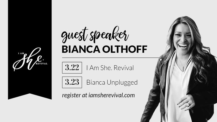 I am She. (Bianca) logo image