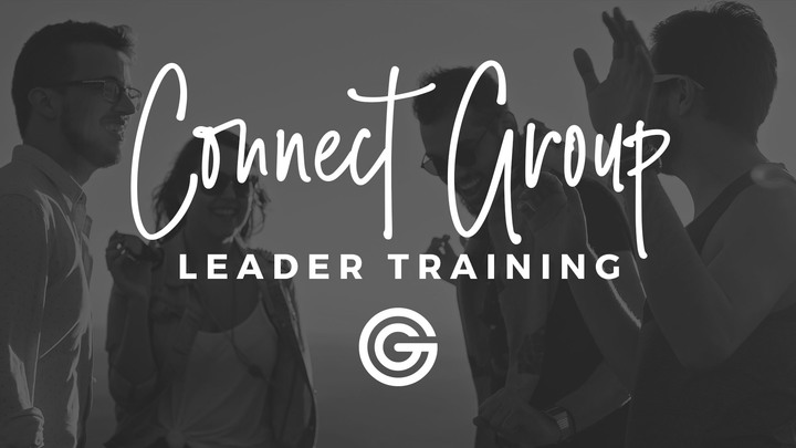 Connect Group Leader Training logo image