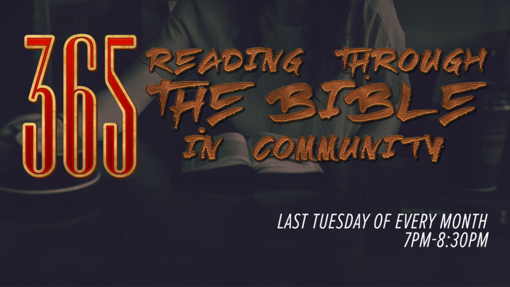 365: Reading through the Bible - Women's Community logo image