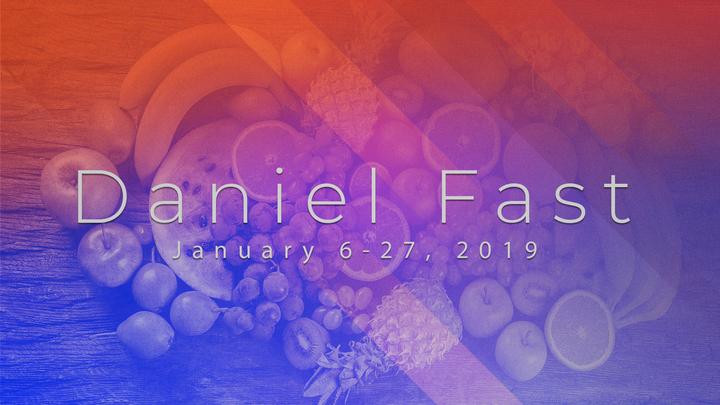 The Daniel Fast logo image