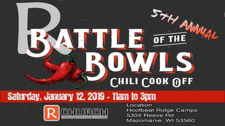 5th Annual Battle of the Bowls - Chili Cook-off logo image