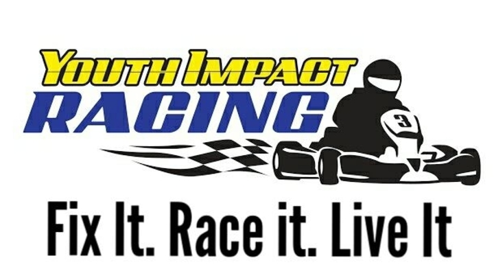 Youth Impact Racing iRacing Introduction logo image