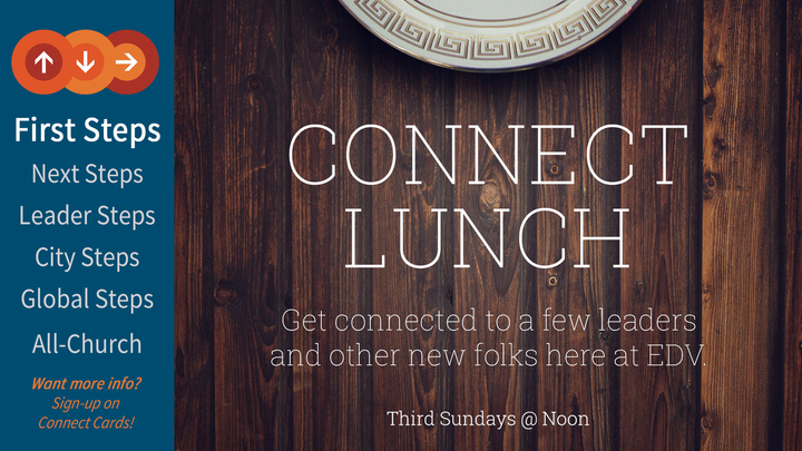 East Denver Vineyard Connect Lunch logo image