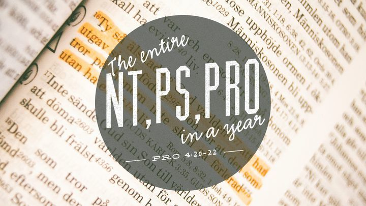 Read through the Bible : NT PS PRO logo image