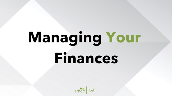 Medium managing your finances verbal