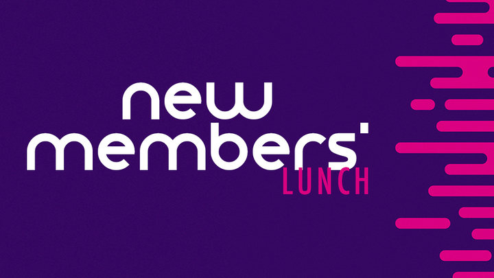 October New Member's Luncheon logo image