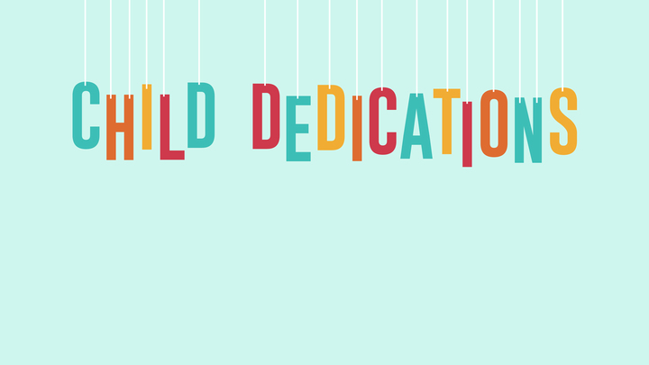 Child Dedications: McKinney logo image
