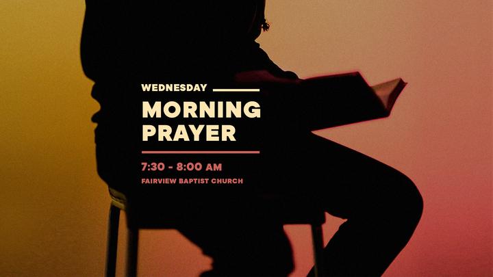Medium stpf wednesday morning prayer