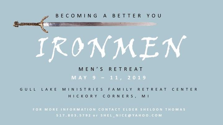 2019 Ironmen's Retreat logo image
