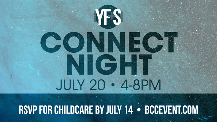 Young Families & Singles Connect Night Childcare logo image