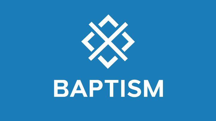 Baptism - November 9 & 10 logo image