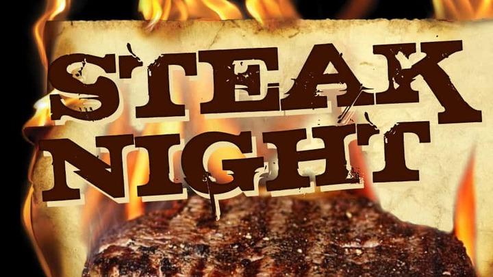 Men's Steak Night logo image