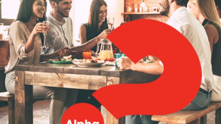 Alpha Dinner - February 6 at 6:30pm  logo image