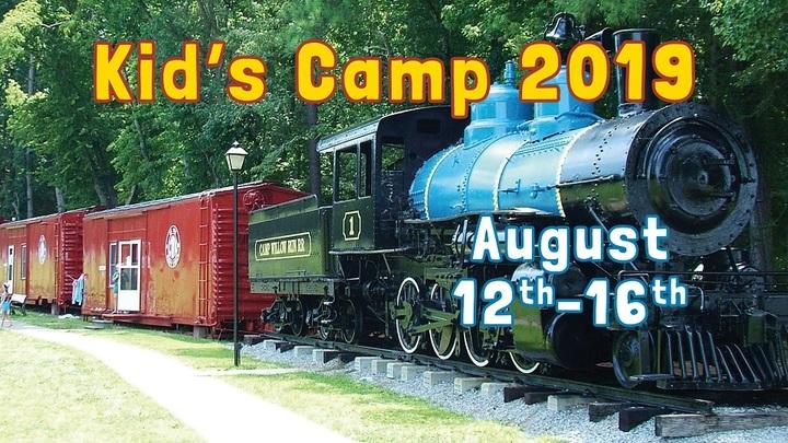 Kid's Camp 2019 logo image