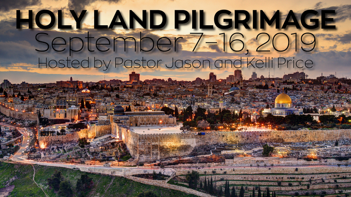 Holy Land Pilgrimage logo image