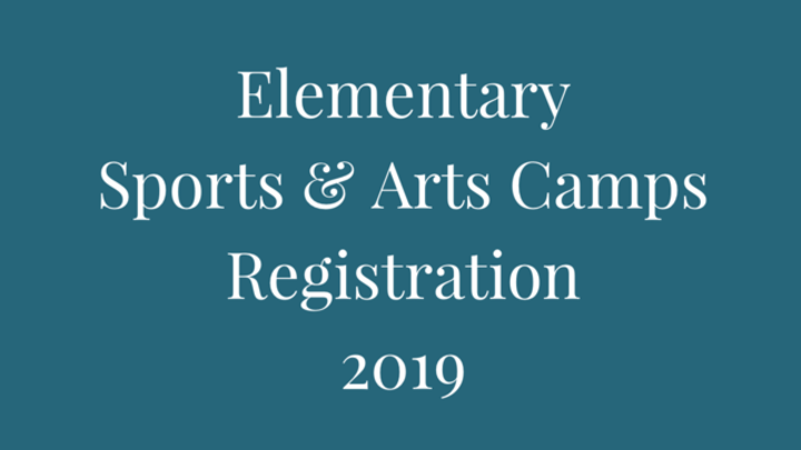 Elementary Sports and/or Arts Camps logo image