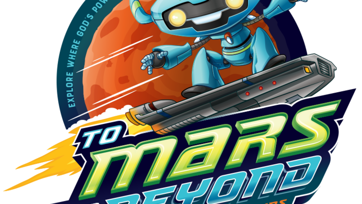 To Mars and Beyond VBS 2019 logo image