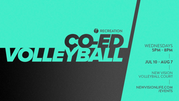 Co-ed Volleyball logo image