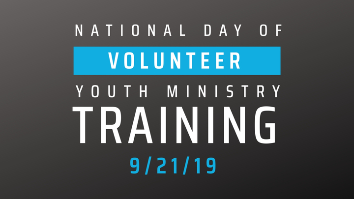National Day of Volunteer Youth Ministry Training logo image