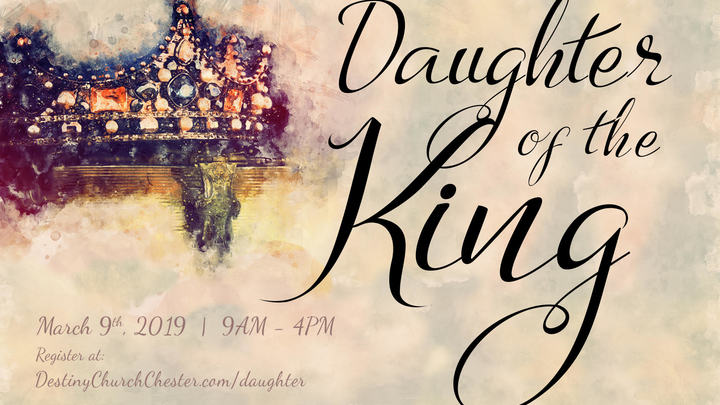 Medium daughter of the king graphic