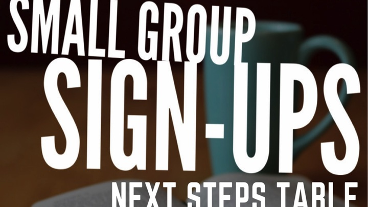 Small Group Sign-ups logo image