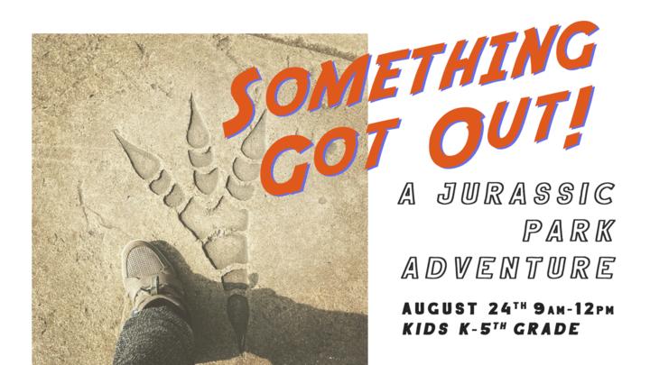 Jurassic Park Kids Adventure logo image