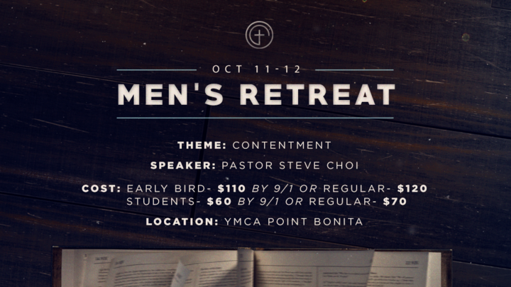 2019 Men's Retreat logo image