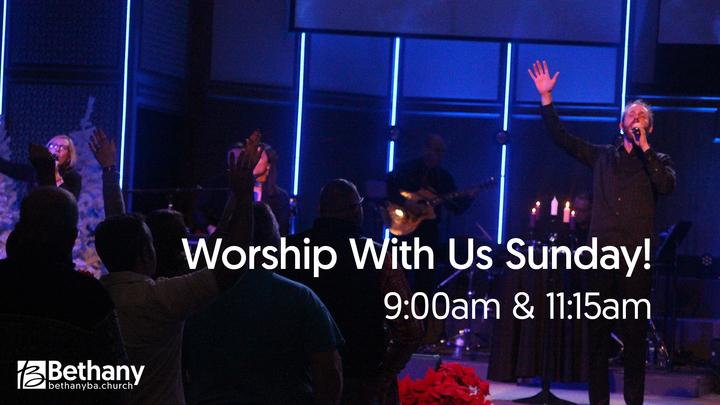 Sunday Worship Services logo image