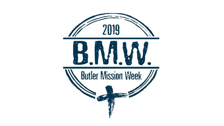 Butler Mission Week logo image
